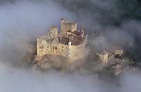 Vallée de la Dordogne, les châteaux vus du ciel / Dordogne Valley, a bird's eye view of its castles