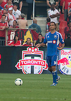 03 July 2013: Montreal Impact defender Alessandro Nesta #14 in action during an MLS game between the Montreal Impact and Toronto FC at BMO Field in Toronto, Ontario Canada.<br /> The game ended in a 3-3 draw.