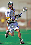 23 March 2008: University of Vermont Catamounts' Tommy Archer, a Sophomore from Washington, DC, in action against the Bellarmine University Knights at Moulton Winder Field, in Burlington, Vermont. The Catamounts defeated the visiting Knights 9-7 at the Vermont home opener...Mandatory Photo Credit: Ed Wolfstein Photo