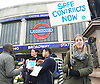 Junior Doctors Strike <br /> picket at St George's Hospital, Tooting, London, Great Britain <br /> 26th April 2016 <br /> <br /> Dr's outside St George's Hospital <br /> <br /> Outside Tooting Broadway tube station <br /> <br /> <br /> Photograph by Elliott Franks <br /> Image licensed to Elliott Franks Photography Services