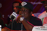 Jadakiss Attends Boost Mobile in association with Guerilla Union Presents An East Coast ROCK THE BELLS FESTIVAL SERIES Press Conference and Fan Appreciation Party at Santos Party House, NY  6/13/12