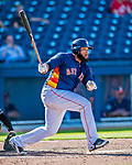 1 March 2017: Houston Astros first baseman Jon Singleton in Spring Training action against the Miami Marlins at the Ballpark of the Palm Beaches in West Palm Beach, Florida. The Marlins defeated the Astros 9-5 in Grapefruit League play. Mandatory Credit: Ed Wolfstein Photo *** RAW (NEF) Image File Available ***