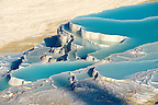 Photo &amp; Image  of Pamukkale Travetine Terrace, Turkey. Images of the white Calcium carbonate rock formations. Buy as stock photos or as photo art prints. 3