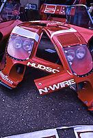 Porsche partds in paddock, 24 Hours of Daytona, Daytona International Speedway, February 1, 1981.  (Photo by Brian Cleary/www.bcpix.com)