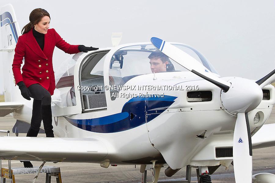Duchess of Cambridge - RAF Wittering 2