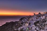Oia Sunset in Santorini, Greece