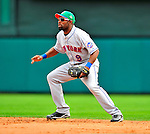 17 March 2009: New York Mets' infielder Marlon Anderson in action during a Spring Training game against the Atlanta Braves at Disney's Wide World of Sports in Orlando, Florida. The Braves defeated the Mets 5-1 in the Saint Patrick's Day Grapefruit League matchup. Mandatory Photo Credit: Ed Wolfstein Photo