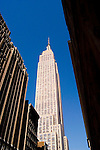 New York City, New York: Empire State Building  .Photo #: ny287-14945  .Photo copyright Lee Foster, www.fostertravel.com, lee@fostertravel.com, 510-549-2202.