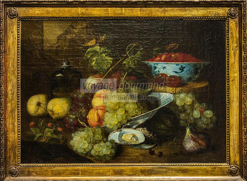 Europe/Belgique/Flandre/Flandre Occidentale/Bruges: Centre historique classé Patrimoine Mondial de l'UNESCO,   Musée Groeninge , Nature morte aux fruits