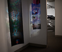 This part of the exhibition was exclusively curated by Jason Miller, aka Dr. Big Jelly Chub-a-Lub.<br /> <br /> Work featured was created by the following:<br /> <br /> Jessica Felton, aka Commander Zi<br /> Terrell Harmon, aka T Rex<br /> Jenee Love, aka Sharella Style<br /> Terrance LaQuinn Mason Jr, aka T Mobile<br /> Zachary Chase Morgan, aka The Blessed Shrive<br /> N P Quinn, aka General Surgeon Fuzzy Tip<br /> Kyle David Russell, aka Professor MLGW<br /> Brooke Smith, aka Kernal Sargent Mindcamp<br /> Joseph Andrew Tschume, aka Joe Hammer Smithwiper<br /> Corie Len Walker, aka Dr. Bad Core Killa<br /> Dudley D Chatman III, aka The One and Only Masta Cleva more here: http://www.memphis.edu/amum/timepoolsstatement.php