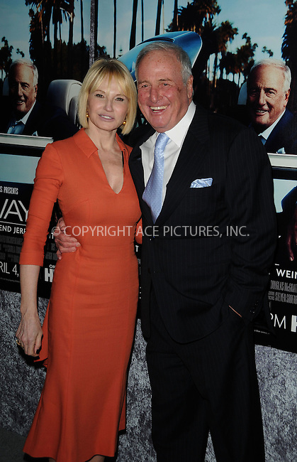 WWW.ACEPIXS.COM . . . . . ....March 22 2011, Los Angeles....Actress Ellen Barkin and Producer Jerry Weintraub arriving at the premiere of the HBO documentary 'His Way' at Paramount Studios on March 22, 2011 in Hollywood, CA....Please byline: PETER WEST - ACEPIXS.COM....Ace Pictures, Inc:  ..(212) 243-8787 or (646) 679 0430..e-mail: picturedesk@acepixs.com..web: http://www.acepixs.com