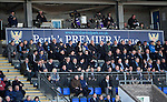 St Johnstone v St Mirren....21.03.15<br /> Fans watch the game from the Main Stand<br /> Picture by Graeme Hart.<br /> Copyright Perthshire Picture Agency<br /> Tel: 01738 623350  Mobile: 07990 594431