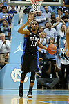 17 February 2016: Duke's Matt Jones. The University of North Carolina Tar Heels hosted the Duke University Blue Devils at the Dean E. Smith Center in Chapel Hill, North Carolina in a 2015-16 NCAA Division I Men's Basketball game. Duke won the game 74-73.