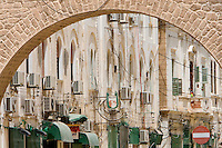 Tripoli, Libya - Medina Entry Arch, Building Facade