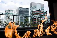 Mexico Citiy's Distrito Capital hotel from the Habita group. Santa Fe, Mexico City