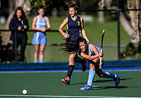 Action during the Secondary School Girls ANZAC hockey Invitational Tournament between Villa Maria (CHCH) and Hillcrest at St Cuthbert's College, Remuera,  New Zealand. Friday 28 April 2017. Photo:Simon Watts / www.bwmedia.co.nz