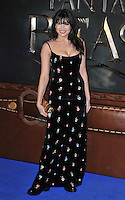Daisy Lowe at the &quot;Fantastic Beasts and Where to Find Them&quot; European film premiere, Odeon Leicester Square cinema, Leicester Square, London, England, UK, on Tuesday 15 November 2016. <br /> CAP/CAN<br /> &copy;CAN/Capital Pictures /MediaPunch ***NORTH AND SOUTH AMERICAS ONLY***