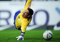 FUSSBALL   1. BUNDESLIGA   SAISON 2011/2012    12. SPIELTAG SV Werder Bremen - 1. FC Koeln                              05.11.2011 Torwart Tim WIESE (Bremen)