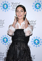 NEW YORK, NY-October 27: Lily Aldridge at  World of Children Awards 2016 at  583 Park Avenue in New York.October 27, 2016. Credit:RW/MediaPunch