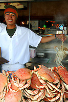 Crabs at Fishermans Wharf, San Francisco