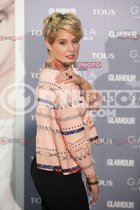 Tania Llasera poses for the photographers during TOUS presentation in Madrid, Spain. January 21, 2015. (ALTERPHOTOS/Victor Blanco) /NortePhoto<br />