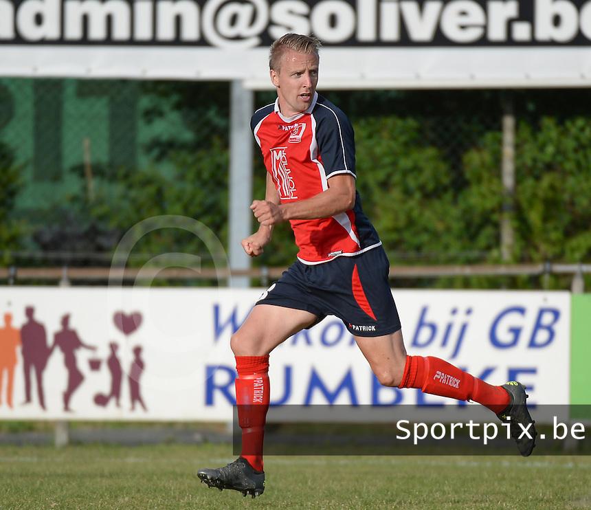 KVK Avelgem : Jonas Viaene <br /> Foto VDB / Bart Vandenbroucke