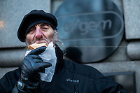 "03.02.2015 - ""Packed Lunch Protest"" at Ofgem"