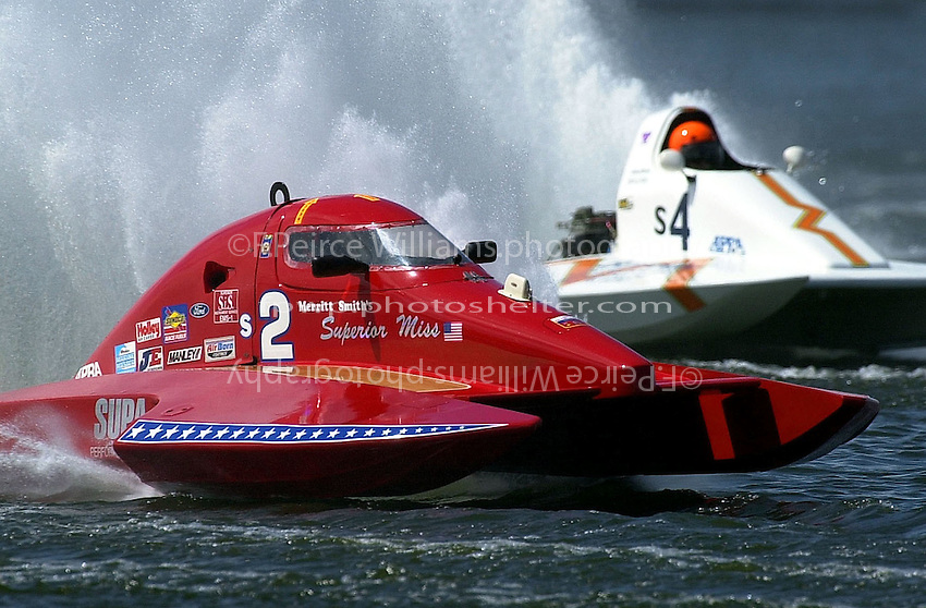 S-2 and S-4     (2.5 Litre Stock hydroplane(s)