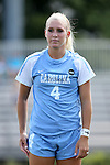 04 September 2016: North Carolina's Bridgette Andrzejewski. The University of North Carolina Tar Heels played the Villanova University Wildcats at Koskinen Stadium in Durham, North Carolina in a 2016 NCAA Division I Women's Soccer match. UNC won the game 2-0