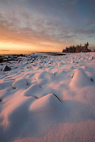 """Winter's Dawn"" - The Seawall  #A27"