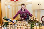 Christmas Craft Fair in aid of Oncology Unit UHK and Glebe Lodge at the River Island Hotel, Castleisland on Saturday was Eamon O'Connor of Eamon O'Connor Woodwork