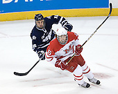 John Henrion (UNH - 16), Curtis McKenzie (Miami - 16) - The University of New Hampshire Wildcats defeated the Miami University RedHawks 3-1 (EN) in their NCAA Northeast Regional Semi-Final on Saturday, March 26, 2011, at Verizon Wireless Arena in Manchester, New Hampshire.