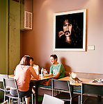 The Laughing Planet Cafe in the Mississippi neighborhood of North Portland is a quick service restaurant that serves nutritious fare in the form of burritos, bowls, soups, salads, smoothies, juices and home-made cookies.