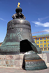 Europe; Russia; Moscow; The Czar Bell at the Kremlin in Moscow.