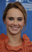 Suki Waterhouse attends a photocall for 'The Bad Batch' during the 73rd Venice Film Festival at Palazzo del Casino on September 6, 2016 in Venice, Italy.<br /> CAP/GOL<br /> &copy;GOL/Capital Pictures /MediaPunch ***NORTH AND SOUTH AMERICAS ONLY***