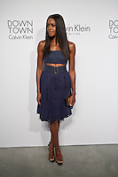 Naomie Harris Attends the Calvin Klein Collection post show event at Spring Studios on September 12, 2013 New York by VIEWpress