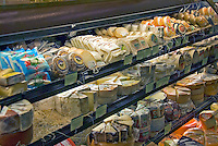 Super Market, Produce, Stacked, Shelves, restaurant, quality, prepared, foods, chefs on site, extensive, cheese, selection, array of specialty foods