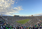 Nov. 2, 2013; Notre Dame Stadium during the Navy game, 2013.<br /> <br /> Photo by Matt Cashore
