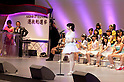 June 6, 2012, Tokyo, Japan - Speech of Rena Matsui, 10th at election.  AKB General Election at Nippon Budokan. The biggest girl band in the world and Japan's most popular pop group elected its new leader in a nationwide election open to all fans. The collective is organised into different units which in turn are sometimes split into smaller groups. The night involved singing, games, tears and the eventual crowning of new leader Yuko Oshima from Team K with 108837 votes for most popular member..