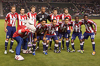 CD Chivas USA starting eleven. The Colorado Rapids defeated CD Chivas USA 1-0 at Home Depot Center stadium in Carson, California on Saturday March 26, 2011...