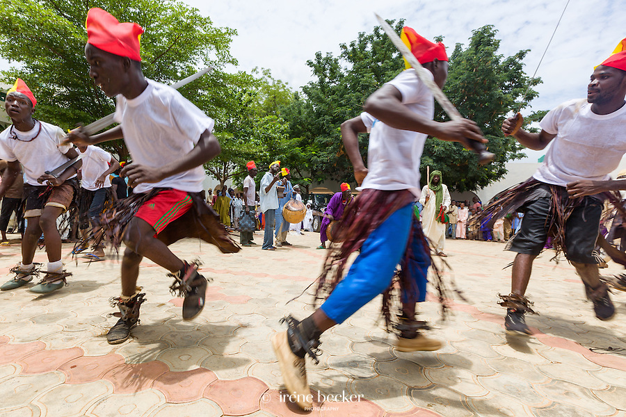 Dancers in Emir's Palace.
