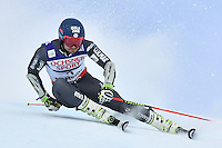 February 17, 2017: Mathieu FAIVRE (FRA) competing in the men's giant slalom event at the FIS Alpine World Ski Championships at St Moritz, Switzerland. Photo Sydney Low