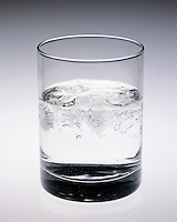 ICE CUBES MELTING IN A GLASS<br /> (2 of 2)<br /> Water Freezes At 0 deg F At 1 Atm.