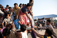 After less than three days in Thailand the Burmese refugees begin to return home. An estimated 20,000 had fled into Thailand to escape clashes in the border towns of Myawaddy and Pyaduangsu, only a day after a Burmese election which critics described as a sham..Ethnic minorities along the Thai-Burma border had warned earlier that the junta would launch a major offensive after the election, as many armed rebel groups had refused to become part of the government-controlled Border Guard Forces.&nbsp;
