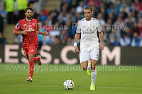 Cardiff City Stadium, Cardiff, South Wales - Tuesday 12th Aug 2014 - UEFA Super Cup Final - Real Madrid v Sevilla - <br /> <br /> Real Madrid&rsquo;s Pepe in action<br /> <br /> <br /> <br /> <br /> Photo by Jeff Thomas/Jeff Thomas Photography
