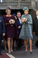 King Philippe & Queen Mathilde of Belgium on a State Visit to The Netherlands