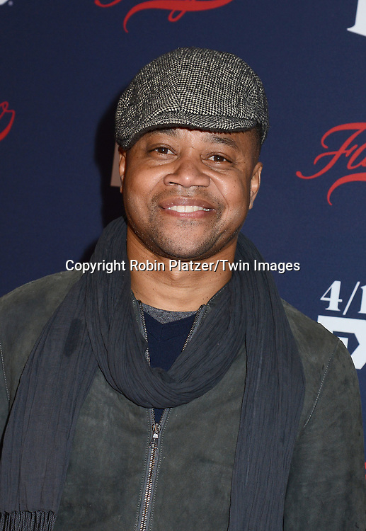 Cuba Gooding, Jr attends FX's 2017 All-Star Upfront on  April 6, 2017 at SVA Theater in New York, New York, USA. <br /> <br /> photo by Robin Platzer/Twin Images<br />  <br /> phone number 212-935-0770