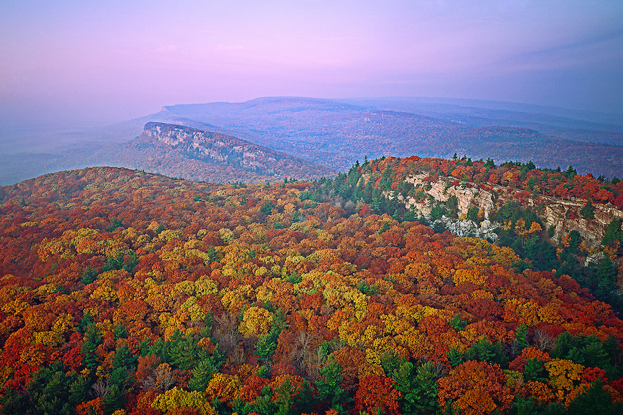 New Paltz, New York, Shawanggunk Mountains, Minnewaska State Park, falll