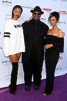 PACIFIC PALISADES, CA - JULY16: Bella Harris, Jimmy Jam Harris, Lisa Harris at the 18th Annual DesignCare Gala on July 16, 2016 in Pacific Palisades, California. Credit: David Edwards/MediaPunch