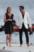 Sarah Ferguson & boyfriend Manuel Fernandez are enjoying some romantic time - France